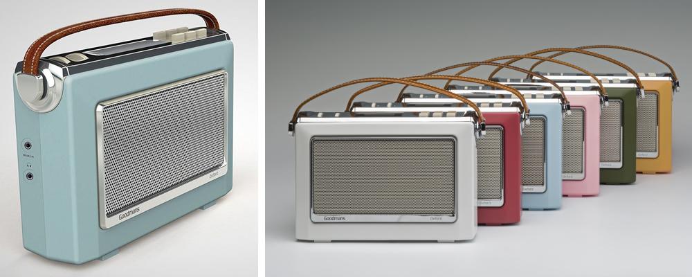 Goodmans 1960's Vintage Style Retro DAB Radio Review
