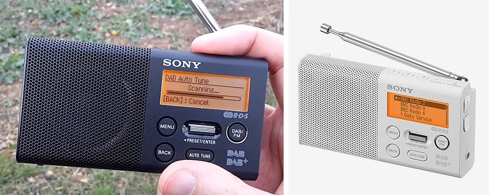 Sony XDR-P1DBP Portable Pocket DAB Radio Review