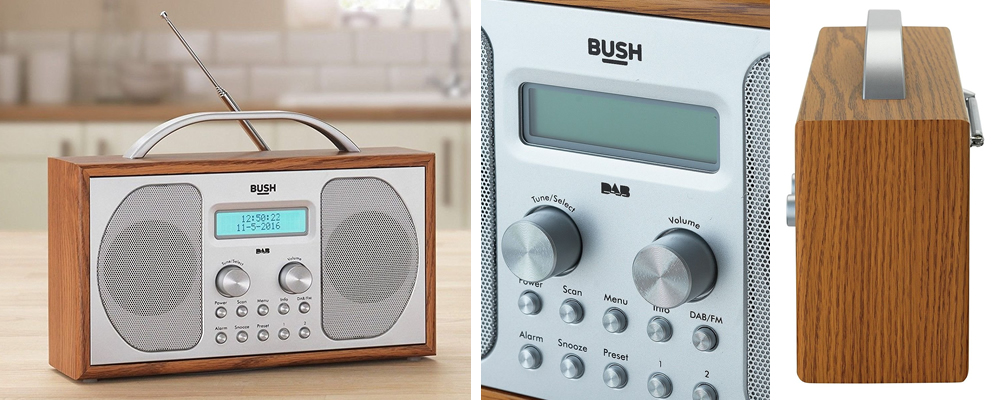 dab radio alarm clock uk tangent trio walnut digital dab radio with alarm clock roberts dream. Black Bedroom Furniture Sets. Home Design Ideas