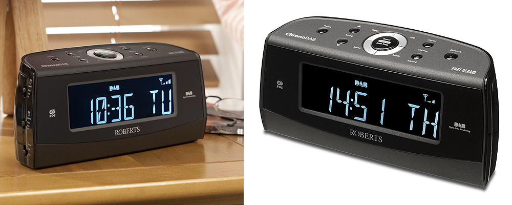 7 best dab radio alarm clocks reviewed uk 2017. Black Bedroom Furniture Sets. Home Design Ideas