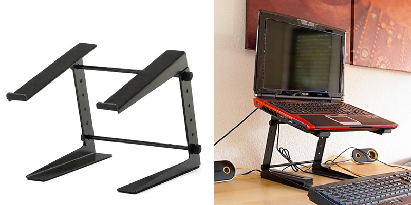 Adam Hall Adjustable Laptop Stand