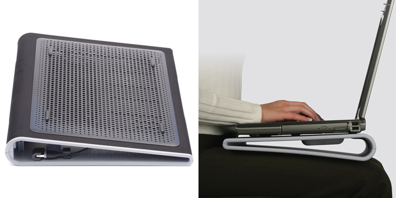 Targus Dual-Fan Laptop Cooling Stand   AWE55EU