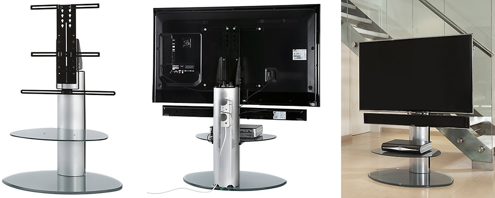 Off The Wall Motion TV & Soundbar Stand