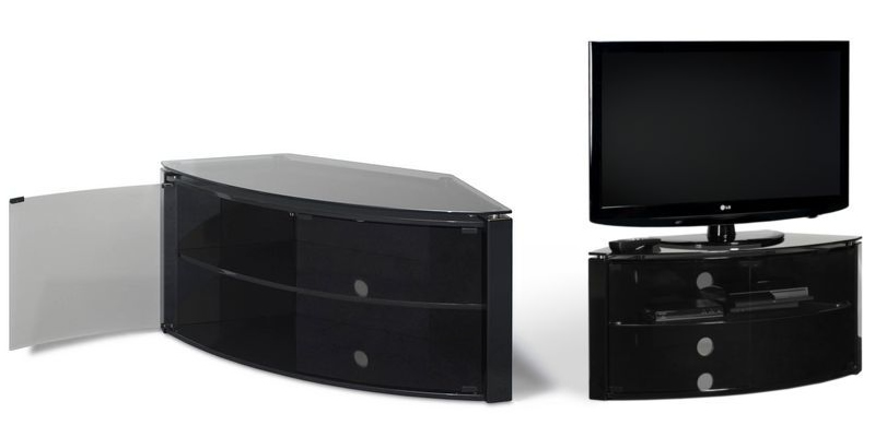 buy online 206c9 3d13a Top 15 Best Corner TV Stands | Wood and Glass Designs