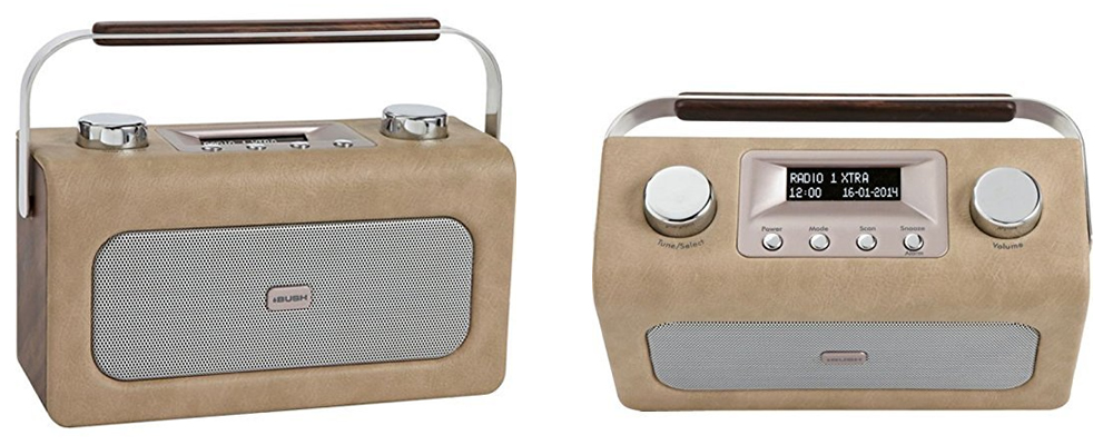 Bush Leather Retro DAB Radio Review