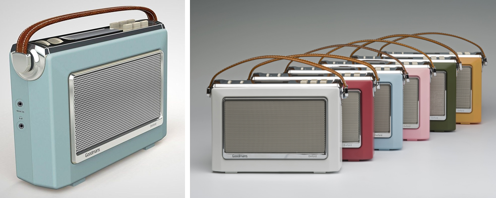 Goodmans 1960's Vintage Style Retro DAB Radio Review