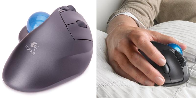 Logitech M570 Wireless Trackball Ergonomic Mouse